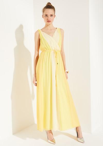 COMMA Kleid in gelb, Modelansicht