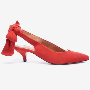 Ganni High Heels & Pumps in 40 in Red