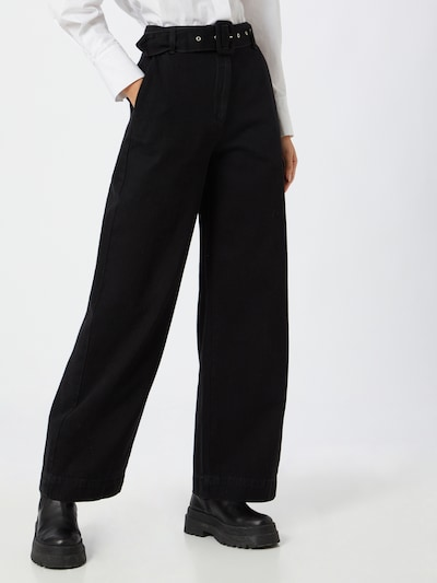 SELECTED FEMME Jeans in schwarz: Frontalansicht