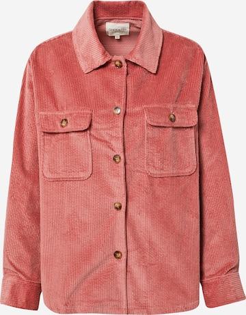 Grace & Mila Between-Season Jacket in Pink