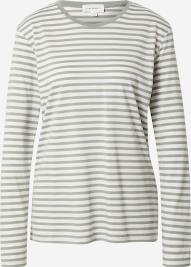 ARMEDANGELS Shirt 'KOSMAA' in pastellgrün / weiß, Produktansicht