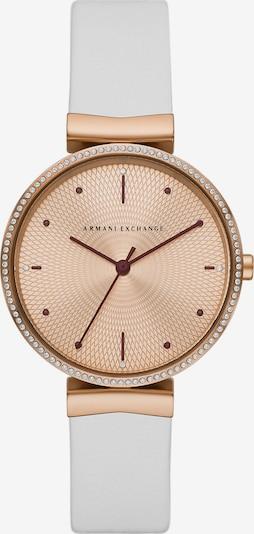 ARMANI EXCHANGE Uhr in weiß, Produktansicht