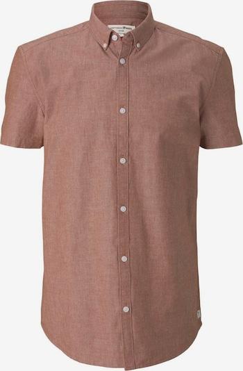 TOM TAILOR DENIM Hemd in rostbraun, Produktansicht