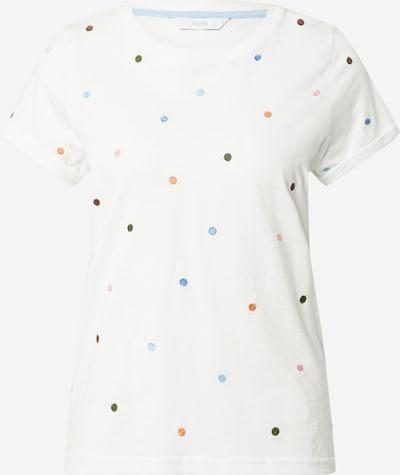 NÜMPH Shirt in blau / grün / orange / rosa / weiß, Produktansicht