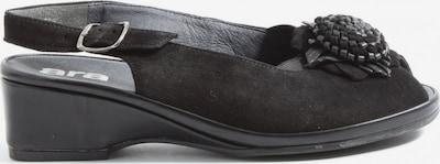 Luftpolster Plateau-Sandalen in 36,5 in schwarz, Produktansicht