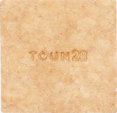 Toun28 Seife 'S2 Vitamin & Linseed Oil' in beige, Produktansicht