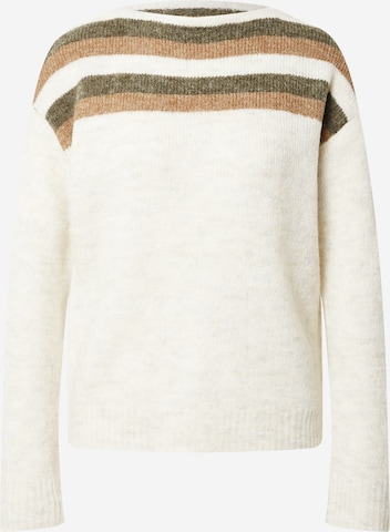 PULZ Jeans Sweater 'ASTRID' in White