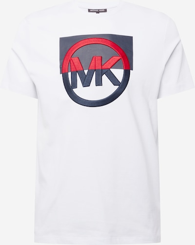Michael Kors T-Shirt in navy / rot / weiß, Produktansicht