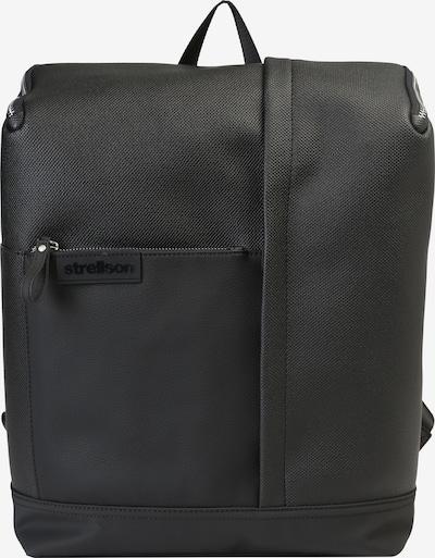 STRELLSON Rugzak 'Royal Oak BackPack MVZ' in de kleur Zwart, Productweergave