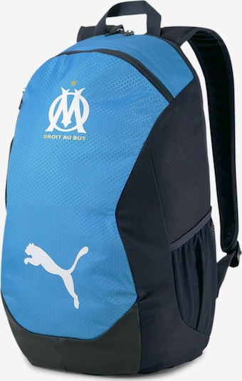 PUMA Sportrugzak in de kleur Lichtblauw / Zwart, Productweergave