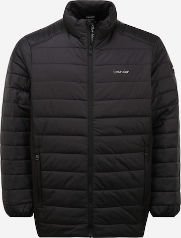 Calvin Klein Between-Season Jacket in Black