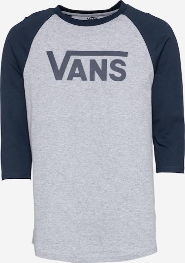 VANS Shirt in de kleur Navy / Grijs gemêleerd, Productweergave