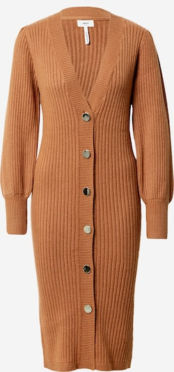 Rochie tricotat OBJECT pe caramel, Vizualizare produs