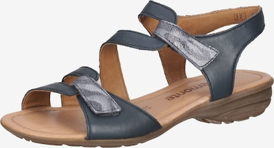 REMONTE Sandalen in rauchblau, Produktansicht
