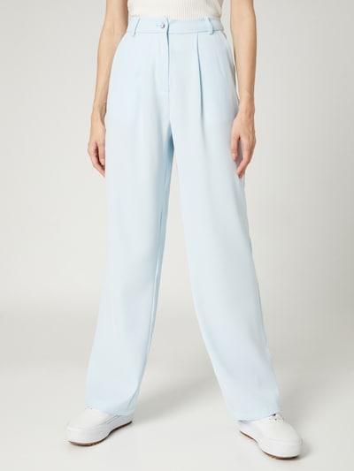 VIERVIER Plisované nohavice 'Jennifer' - svetlomodrá, Model/-ka