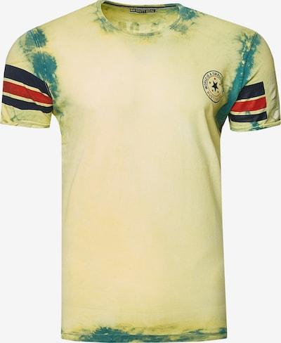 Rusty Neal Shirt in de kleur Groen: Vooraanzicht