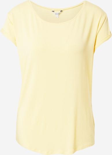 mbym T-shirt 'Nisha' en jaune clair, Vue avec produit