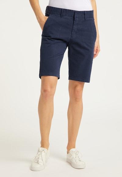 DreiMaster Vintage Shorts in dunkelblau, Modelansicht