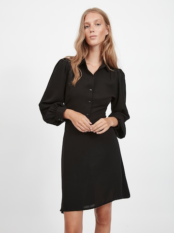 VILA Shirt Dress 'Nalu' in Black