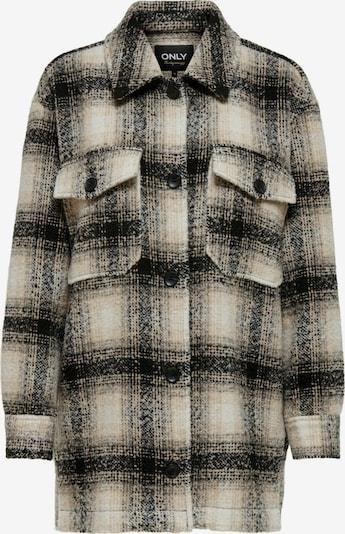 ONLY Jacke 'Allison' in beige / schwarz / weiß, Produktansicht