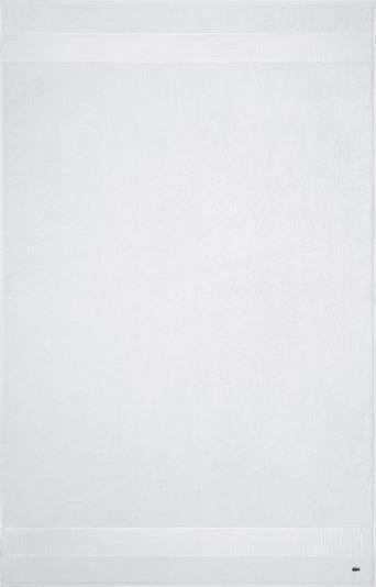 LACOSTE Badetuch 'LE CROCO' in weiß, Produktansicht