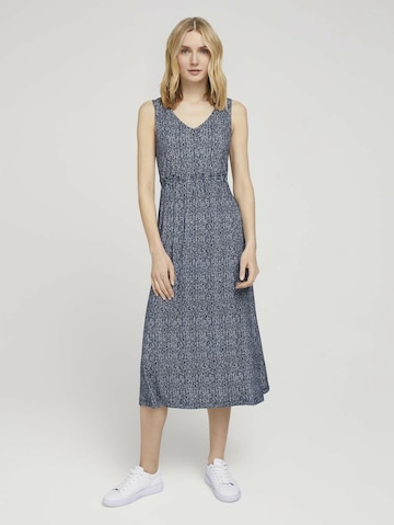 TOM TAILOR Dress in Blue