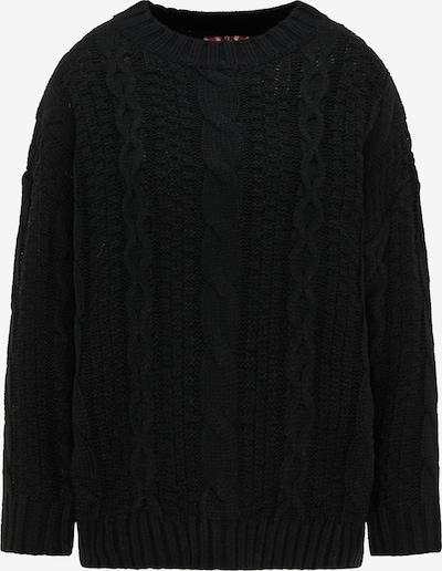 myMo ROCKS Pullover in schwarz, Produktansicht