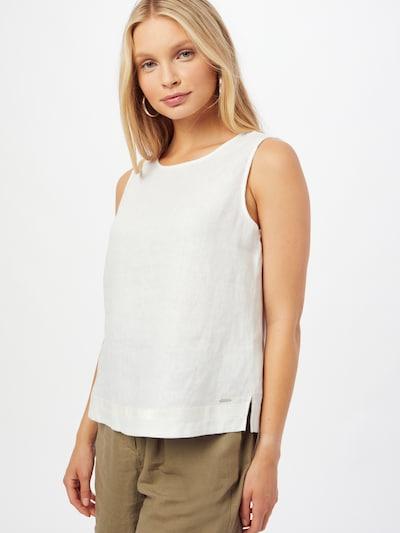 TAIFUN Bluse i offwhite, Modelvisning