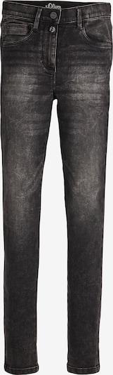 s.Oliver Jeans in de kleur Grey denim / Donkergrijs, Productweergave