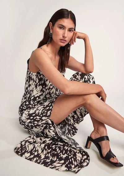 COMMA Dress in Brown / Black / White, View model