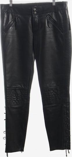 HUGO BOSS Lederhose in M in schwarz, Produktansicht