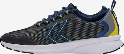 Hummel Sneaker Low ' FLOW FIT' in blau / gelb / grau / schwarz, Produktansicht