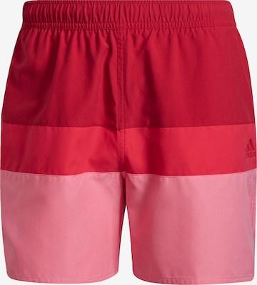 Boardshorts ADIDAS PERFORMANCE en rouge