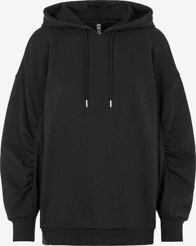 PIECES Hoodie in schwarz, Produktansicht