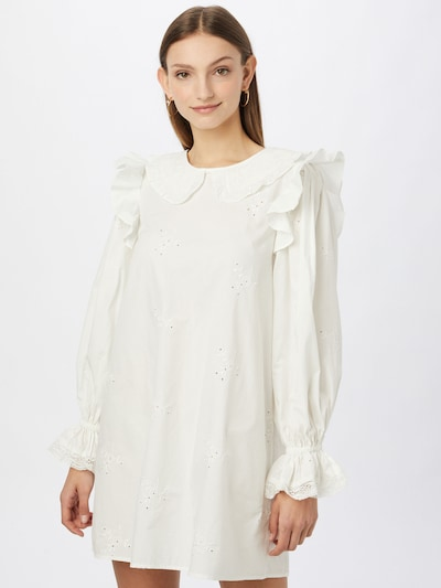River Island Košeľové šaty - biela, Model/-ka