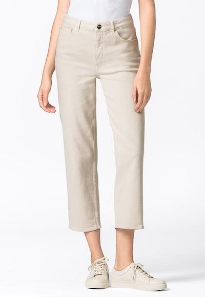 HALLHUBER Jeans in creme, Modelansicht