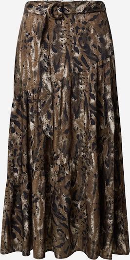 Freequent Suknja 'Jamila' u mornarsko plava / smeđa / bijela, Pregled proizvoda