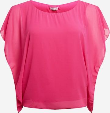 Z-One Pluus 'Clarissa', värv roosa
