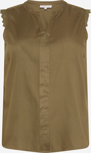 ONLY Carmakoma Blouse 'Mumi' in Khaki, Item view
