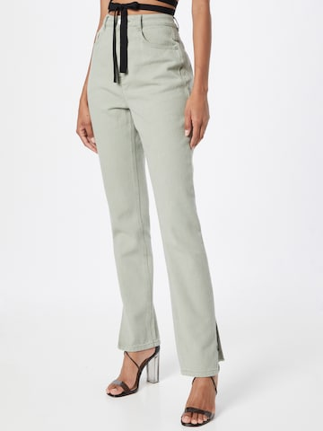 Missguided Jeans in Grün