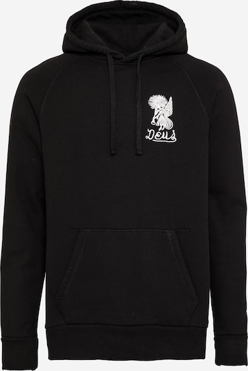 DEUS EX MACHINA Sweatshirt 'Devil' in de kleur Zwart / Wit, Productweergave
