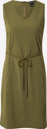 JACK WOLFSKIN Kleid 'Tioga Road' in khaki, Produktansicht