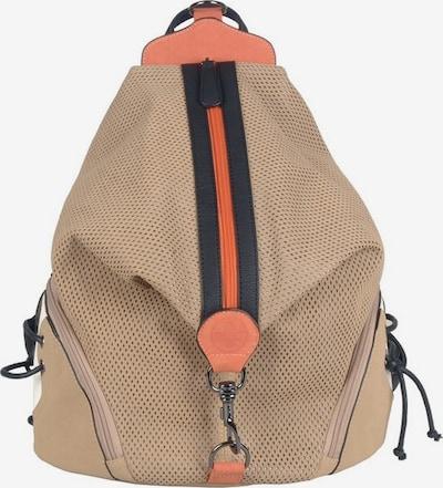 RIEKER Rucksack in beige / orange / schwarz, Produktansicht