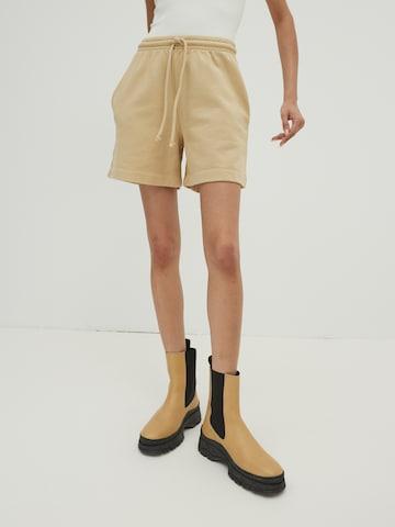 smėlio EDITED Kelnės 'Daisy'
