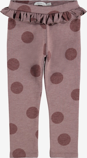 NAME IT Leggings 'Ria' in mauve / beere, Produktansicht