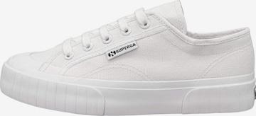 SUPERGA Sneaker '2630 STRIPE - Lena Gercke' in Weiß