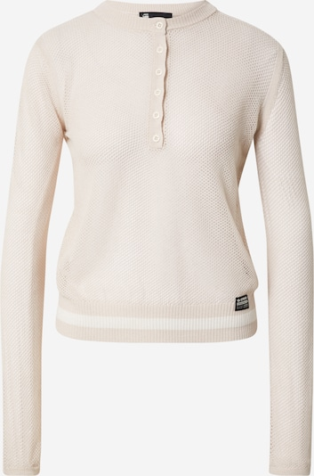 G-Star RAW Sweater in Powder / White, Item view