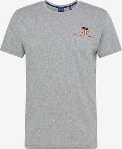 GANT T-Shirt in grau, Produktansicht