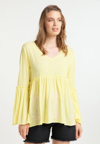 usha FESTIVAL Bluse in Gelb