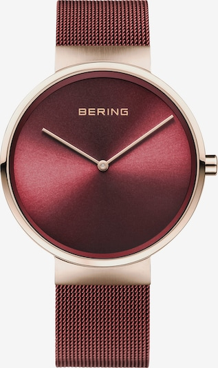 BERING Uhr in gold / bordeaux, Produktansicht